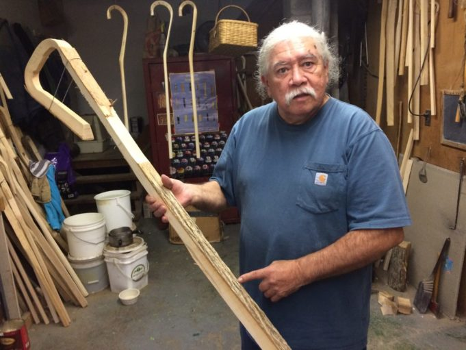 Alf Jacques - Wooden Lacrosse Stickmaker