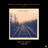Mike Powell's new album: Tied To The Rail