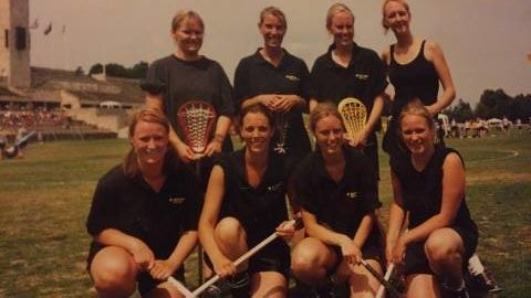 Danish women's lacrosse at 2003 at berlin open
