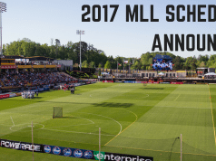 Major League Lacrosse - MLL - 2017 schedule