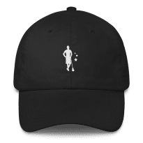 2REAL-five-panel-hat-silo_mockup_Front_Black