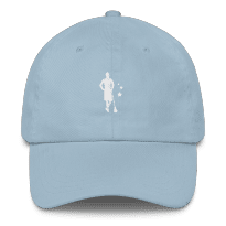 2REAL-five-panel-hat-silo_mockup_Front_Light-Blue