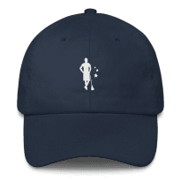 2REAL-five-panel-hat-silo_mockup_Front_Navy