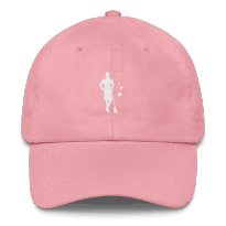 2REAL-five-panel-hat-silo_mockup_Front_Pink
