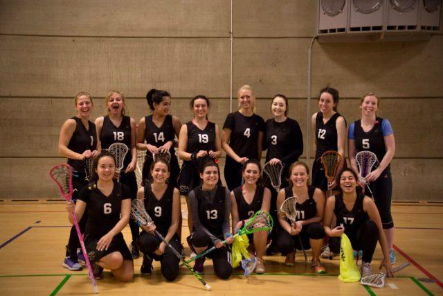 Aarhus Danish women's lacrosse