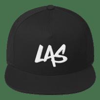 LAS-LaxAllStars-Snapback-Hat_arrow-side-logo-f_mockup_Front_Black
