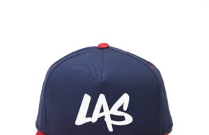 LaxAllStars Snapback Hat - Navy/Red