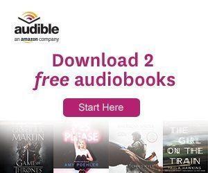 Audible - 2 free audiobooks