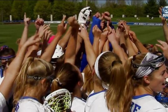 Kerstin Kimel Returns To Duke Women's Lacrosse Team