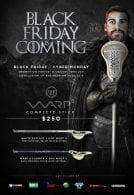 Warrior Warp Lacrosse Stick Black Friday