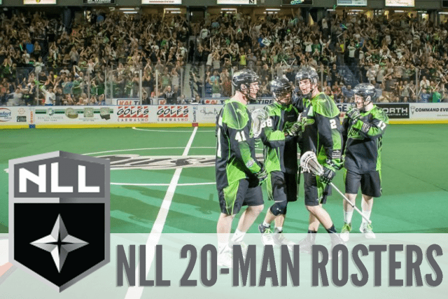2017 NLL 20 MAN ROSTERS