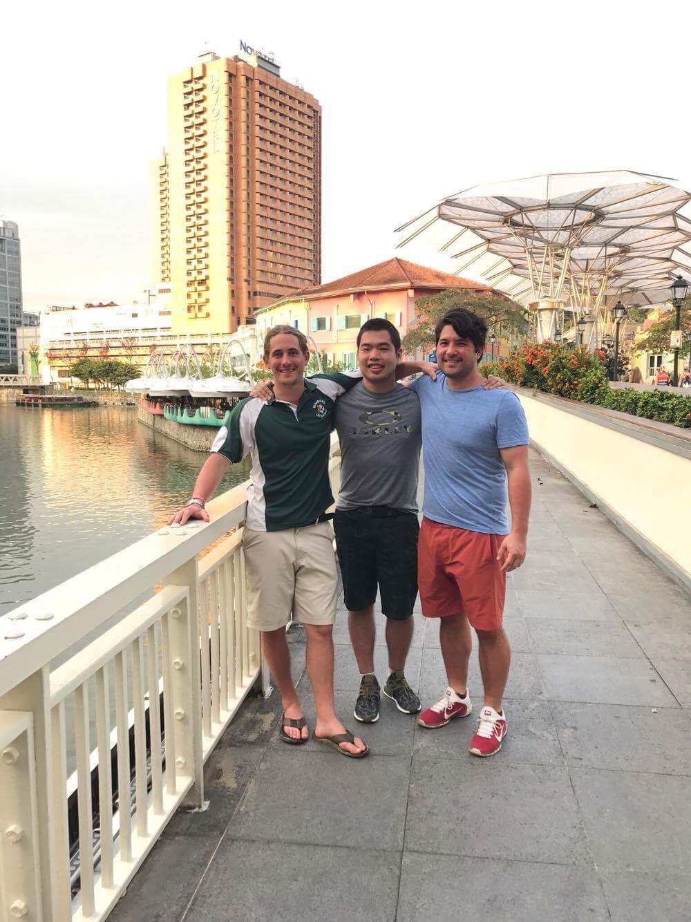 Brian Witmer in Singapore