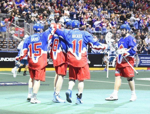 Toronto Rock vs Rochester Knighthawks 2017 nll media poll Photo: Graig Abel / Toronto Rock