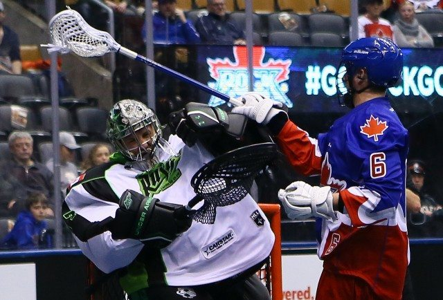 Saskatchewan Rush Toronto Rock 2017 NLL Photo: Graig Abel