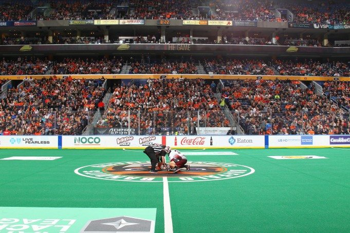 Buffalo Bandits Colorado Mammoth 2017 Photo: Bill Whippert/Buffalo Bandits