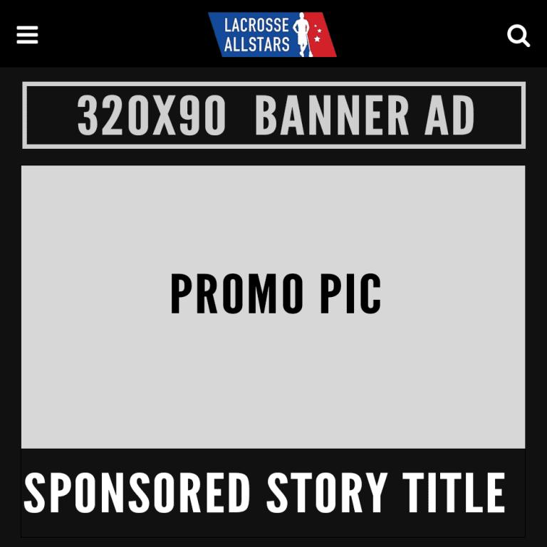 Sponsorship - Sponsor Lacrosse All Stars
