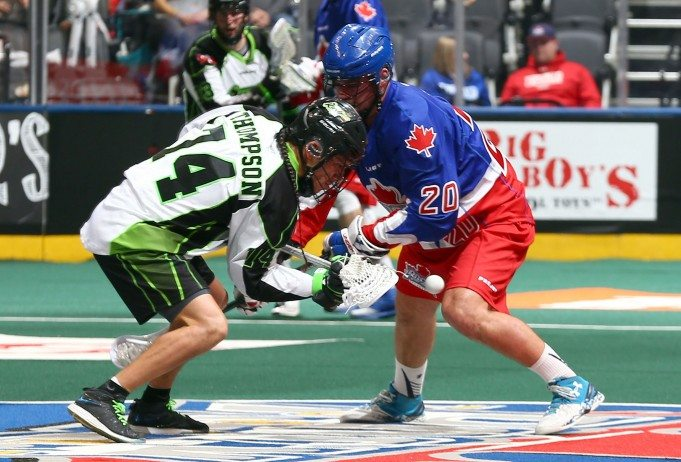 Toronto Rock NLL 2017 Saskatchewan Rush Photo: Graig Abel
