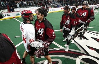 Vancouver Stealth Colorado Mammoth NLL 2017 Photo: Jack Dempsey/Colorado Mammoth