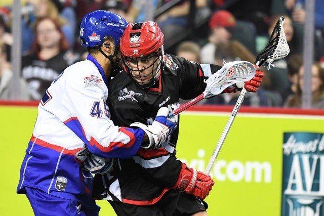 Photo: Calgary Roughnecks vs Toronto Rock NLL Media Poll 2017 Jeff Shattler