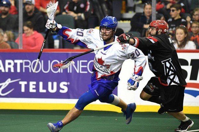 Brad Kri Photo: Calgary Roughnecks vs Toronto Rock NLL Media Poll 2017