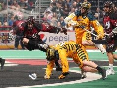Georgia Swarm at Colorado Mammoth NLL 2017 Photo: Michael Martin NLL Media Poll