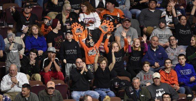 sellout crowd Buffalo Bandits at New England Black Wolves NLL 2017 Photo: New England Black Wolves