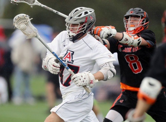 2017 Pac-12 Shootout MCLA Lacrosse Arizona Laxcats vs Oregon State Beavers Photo: Chris Hook