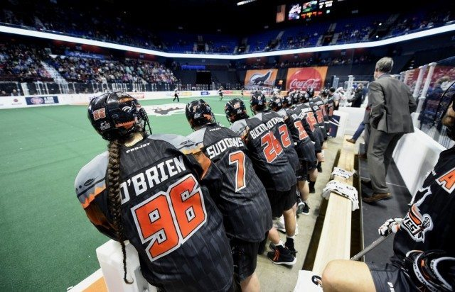 New England Black Wolves vs Colorado Mammoth 2017 Photo: Khoi Ton NLL Media Poll