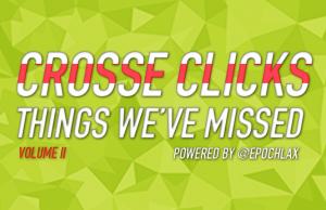 Things We've Missed - Crosse Clicks
