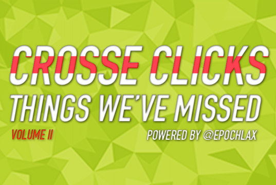Things We've Missed - Crosse Clicks