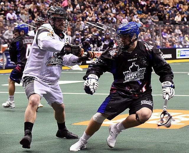 NLL Media Poll Toronto Rock vs New England Black Wolves 2017 Photo: Graig Abel
