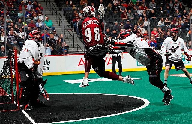 Vancouver Stealth Colorado Mammoth NLL Media Poll 2017 Photo: Jack Dempsey