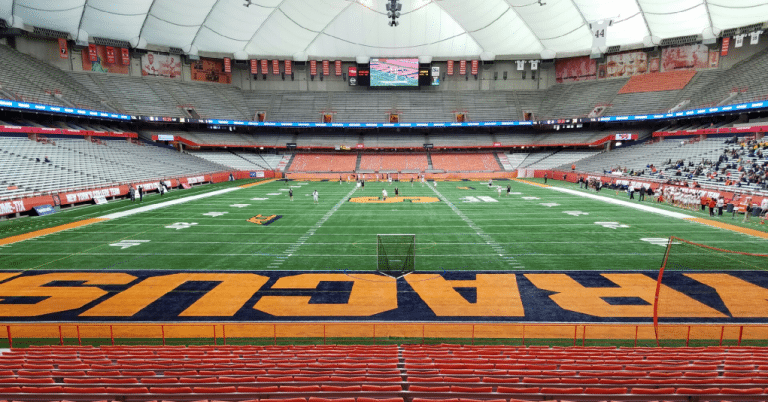 Carrier Dome Syracuse Lacrosse NCAA Lax 2017 Photo: Ryan Conwell