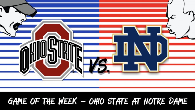 Ohio State at Notre Dame