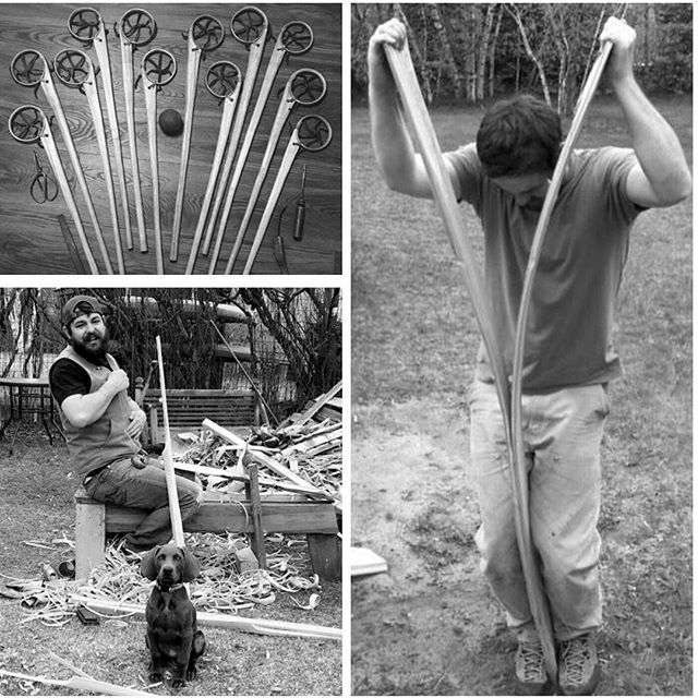 Max Kelsey, Ojibwe Stick Maker