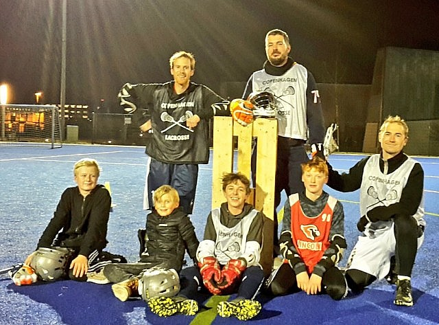 Danish lacrosse Chumash With The Kids