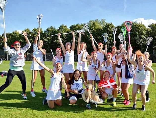 Danish women's lacrosse in Sweden