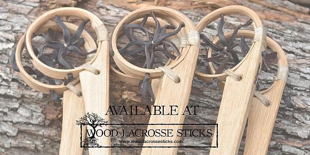 Ojibwe Lacrosse Stick by Max Kelsey