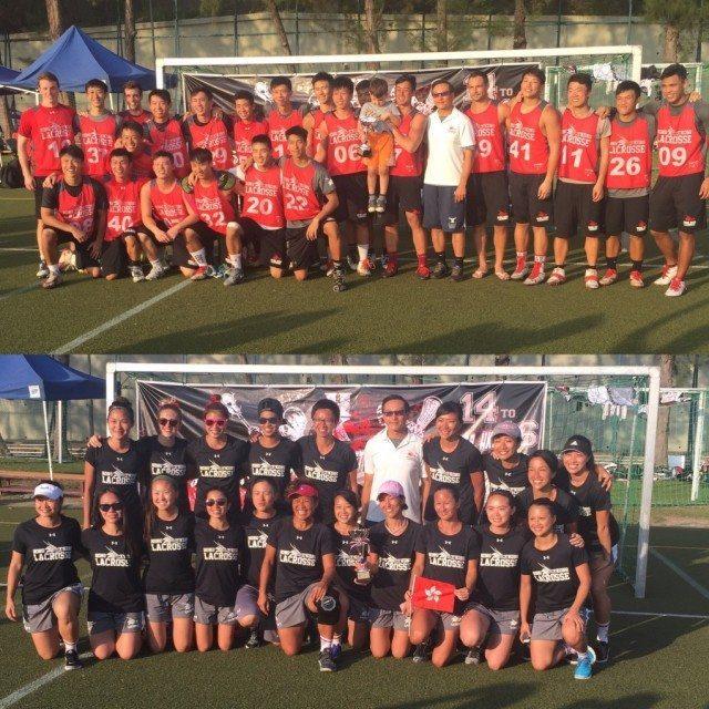 2017 Hong Kong Lacrosse Open champions