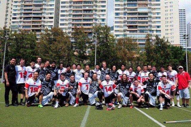 Thailand Lacrosse Year of Mourning lacrosse kit Warrior Vasallo Hong Kong Open 2017 Singapore