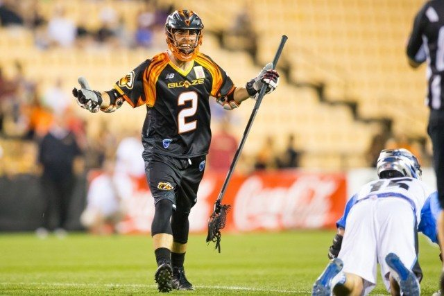 MLL: Denver Outlaws at Atlanta Blaze Photo Credit: Brett Davis
