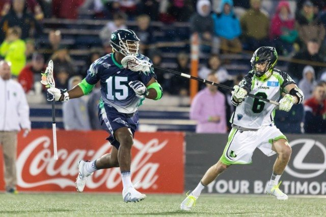 Myles Jones Chesapeake Bayhawks New York Lizards MLL 2017