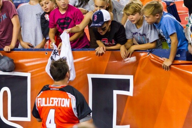 Adam Fullerton Denver Outlaws MLL Goalie Photo: Major League Lacrosse