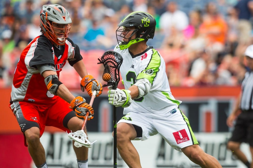 Rob Pannell New York Lizards MLL
