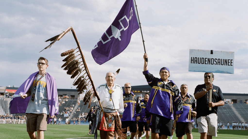 Don't Take Lacrosse Away From Us, the Haudenosaunee