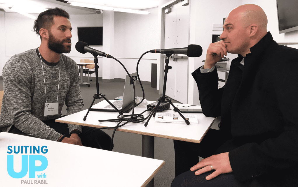 Matt Hasselbeck Suiting Up with Paul Rabil