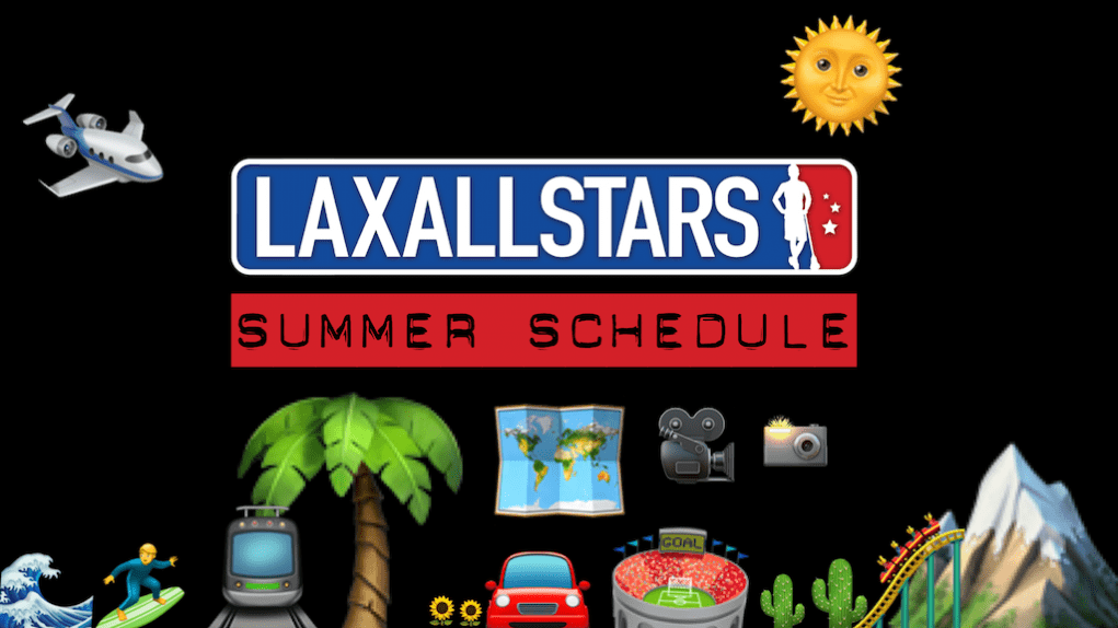 LaxAllStars Summer Events Schedule