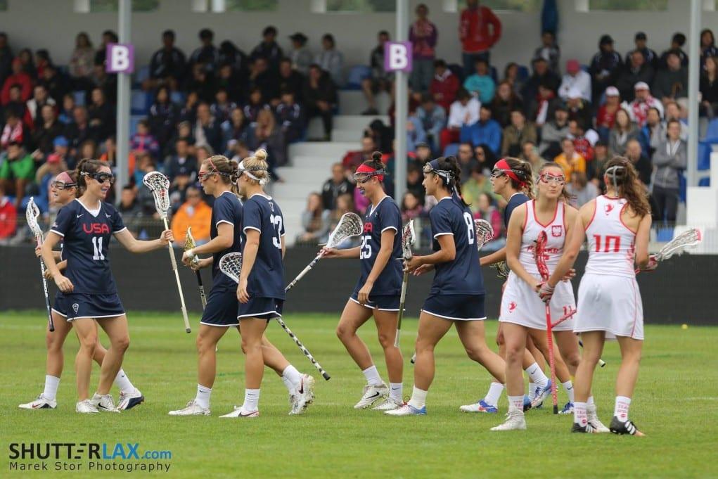 The World Games Lacrosse Wroclaw, Poland women's lacrosse Steve Stenersen USA Poland
