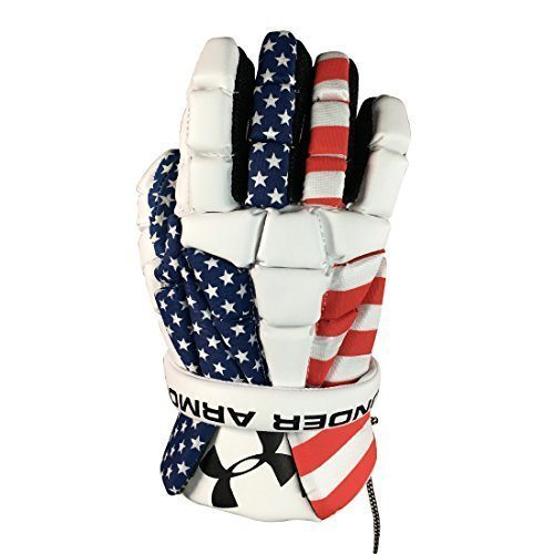 189e8c0cee Under Armour Elevate USA Lacrosse Gloves - Lacrosse All Stars