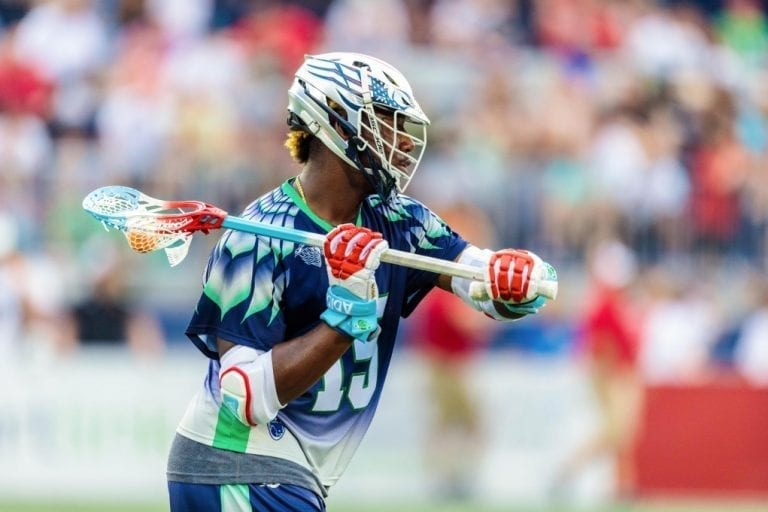 July 2, 2017; Chesapeake, MD, USA; Rochester Rattlers @ Chesapeake Bayhawks at Navy-Marine Corps Memorial Stadium. Photography Credit MLL Playoff Picture